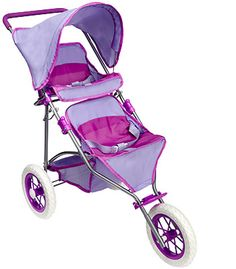 You & Me Twin Doll Jogger Stroller
