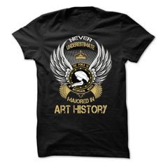 Majored In Art History T-Shirts, Hoodies. SHOPPING NOW ==► https://www.sunfrog.com/Faith/Majored-In-Art-History.html?id=41382