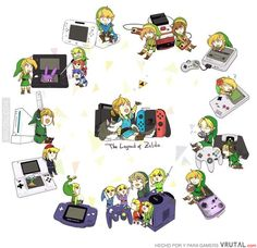 The Zelda series will always be found on a Nintendo console even if breath of the wild is 3 years late. The Legend Of Zelda, Legend Of Zelda Memes, Legend Of Zelda Breath, Twilight Princess, Fire Emblem, Hyrule Warriors, Link Zelda, Wind Waker, Breath Of The Wild
