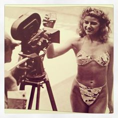 The very first bikini