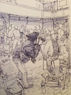 Ball pen by kim jung gi