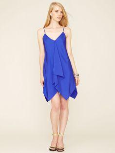 Ali Ro Silk Handkerchief Dress