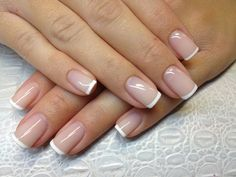 25 New ideas classic french pedicure wedding nails French Manicure Nails, French Pedicure, Nails French Design, French Toe Nails, Nail French, Classic Nails, Homecoming Nails, Prom, Powder Nails