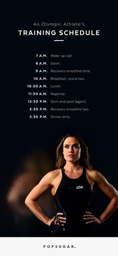 Olympic medalist swimmer Natalie Coughlin knows a thing or two about consistency. Check out her rigid and intense training schedule as she gears up for the Summer 2016 Olympic trials in Rio de Janeiro.