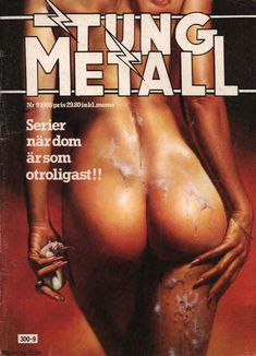 Cover for Tung metall (Epix, 1986 series) #9/1986