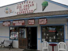 Topper's Ice Cream, Candy, Pizza & Espresso - Yachats, Oregon