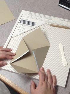 The Paper Nest: Making Envelopes.