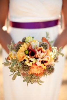 So pretty for fall bouquet wedding