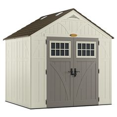 x 7 ft. Storage Shed in the Resin Sheds category at Tractor Supply Co.The Suncast Tremont 8 ft. x 7 ft. Storage Shed Suncast Sheds, Suncast Storage Shed, Storage Shed Plans, Built In Storage, Vinyl Storage, Vertical Storage, Basement Storage, Easy Storage, Plastic Storage Sheds