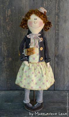 Коллекционные куклы ручной работы. Ярмарка Мастеров - ручная работа Запах свежего утра... Интерьерная кукла. Handmade.
