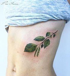 "21.4 k gilla-markeringar, 108 kommentarer - Pis Saro (@pissaro_tattoo) på Instagram: ""The branch of birch tree.  @artfulinkbali #pissaro #pissarotattoo #botanicaltattoo #planttattoo…"""