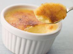 Lactosevrije crème brûlée