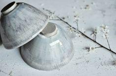 Le Petit Florilège - Bol en grès émaillé gris bleu