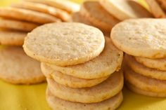 This Meyer lemon and black pepper cookie recipe adds citrus and heat to the classic slice-and-bake icebox sugar cookie.