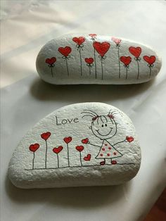 Looking for some easy painted rock ideas to get inspired by? See more ideas about Rock crafts, Painted rocks and Stone crafts. Rock Painting Patterns, Rock Painting Ideas Easy, Rock Painting Designs, Pebble Painting, Pebble Art, Stone Painting, Body Painting, Crafts To Make, Crafts For Kids