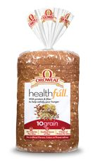 Love this bread! 4 grams of fiber and 5 grams of protein per slice