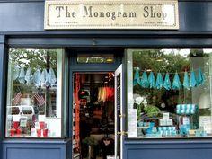 The Monogram Shop in East Hampton