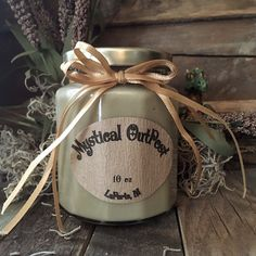 French Vanilla Coffee 10 oz Soy Candle