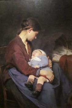 How many hours does a mother spend looking at her sleeping child?   - Goodnight -  ELIZABETH NOURSE 1888