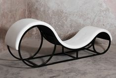 This tantric sofa boasts of exceptional luxurious design a masterpiece, created in dark dungeons by our skillful kinky designers At first glance this sex chair might look as a modern living room sofa Nevertheless, behind its wavy forms it hides a sea Welded Furniture, Iron Furniture, Steel Furniture, Furniture Design, Living Room Modern, Living Room Sofa, Sofa Bed Design, Tantra, Dark Dungeons