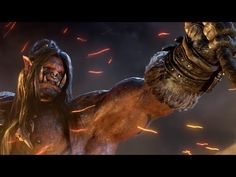 The wait is over, World of Warcraft fans and people who love amazing short CGI films. Blizzard has finally pulled the lid off the next big WoW expansion, Warlords of Draenor.well, what did you expect from the king of video game trailers? Grom Hellscream, Garrosh Hellscream, Grommash Hellscream, World Of Warcraft Patch, World Of Warcraft Characters, Best Trailers, Movie Trailers, Cgi, Games Online
