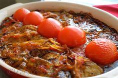 Khoresht-e Bademjan ( Eggplant and tomato Stew) My all time favorite Persian food :)