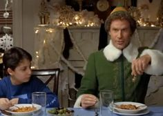 """Love me some Elf - """"Hello, this is Buddy what is your favorite color?"""""""