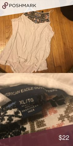 AE aztec tank top worn twice. no flaws American Eagle Outfitters Tops Tank Tops