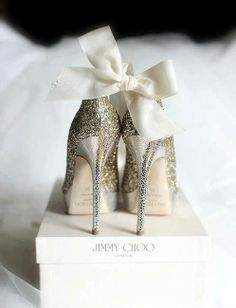 JIMMY CHOO shoes to wear to your wedding.