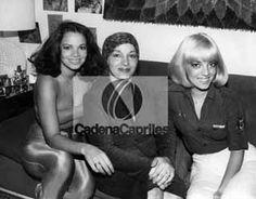 Las actrices Tatiana Capote y Marita Capote, en compañía de su señora madre. Foto: Archivo Fotográfico/Cadena Capriles