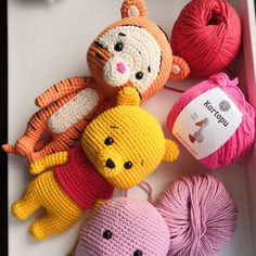 Hello my friends! Hooray, I added this product, I've been waiting for this for so long!)))) You can take them separately, or all together))) after the first sale, the price will become more expensive! Crochet Case, Crochet Baby Toys, Crochet Teddy, Crochet Bear, Crochet Dolls, Easy Crochet, Crochet Birds, Crochet Food, Knitted Dolls