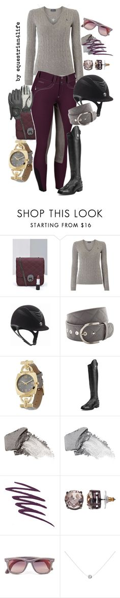 """Glacier Grey and Deep Fushia"" by thegalloptogreatness ❤ liked on Polyvore featuring Boohoo, Polo Ralph Lauren, Isaac Mizrahi, Ariat, Urban Decay, Bare Escentuals, Dana Buchman, Ray-Ban and Pomegranate"