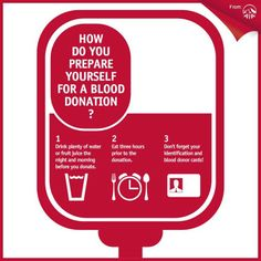 Did you know? Only 1.86% of Singapore's residential population donated blood last year!  We're proud of our AIA volunteers who're donating blood today! Here are some tips for the first timers:  Source: http://www.hsa.gov.sg/