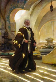 """Obi-Wan Kenobi"" by Donato Giancola Got to be one of my top favorites"