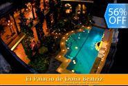 56% OFF Estadía Romántica de Lujo en Habitación Jr. Suite con Jetina Bath y más