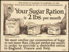 Rations during WWII were an issue that many do not face today. This integrates math and social studies. Students can figure what their rations will be for the amount of members in their family, etc.