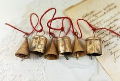 Small Bells Mixeds Windchime Vintage Retro Boho Bohemian Tiny