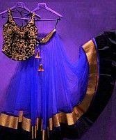Thankar Blue Latest Arrival Designer Lehenga Choli