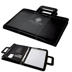 NEW Promotional Sovrano KP7112 Letter Size 3-Ring Binder Portfolio | Customized Portfolios | Promotional Sovrano Portfolios