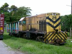 City rail in La Ceiba, Honduras is one of the few remaining passenger train services in Central America.