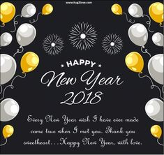 145 Best Happy New Year My Love 2019 Images