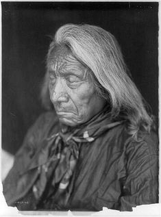 Red Cloud by Edward S. Curtis