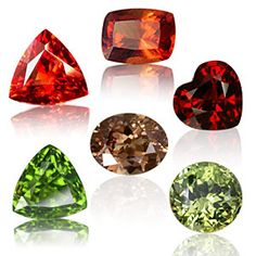 Garnet-the versatile gem comes in an implicit rainbow of colors which comprises of green, yellow, orange, red, brown, purple etc. Reddish Brown is the most found color of Garnet. It is a representation of fire, truth, grace, courage, faith, and compassion.