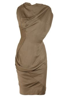 Vivienne Westwood Anglomania Fond draped dress $515 down to $95