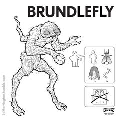 Ed Harrington's Ikea Instructions For Monsters