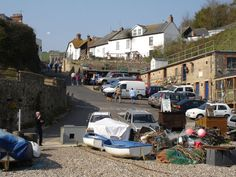 """Midsomer Murders Locations - Beer, Devon. for the episode, """"Down Among the Dead Men."""""""