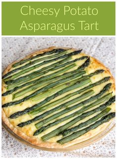 Cheesy Potato Asparagus Tart for #BrunchWeek from Sew You Think You Can Cook