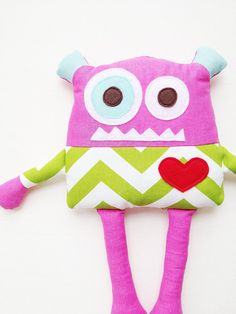 Monster Sewing Pattern - Monster Doll Toy Sewing Pattern -