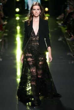 d54b73a0f35 Catwalk photos and all the looks from Elie Saab Spring Summer 2015  Ready-To-Wear Paris Fashion Week