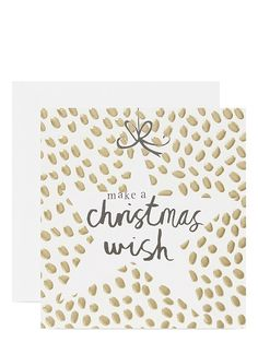 CARD Make a christmas wish cards set of five